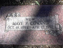 Maye P <i>Parker</i> Cowand