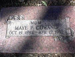 Maggie Maye <i>Parker</i> Cowand