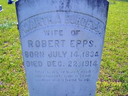 Martha Lemirah Patty <i>Burgess</i> Epps