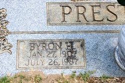 Byron H Preston