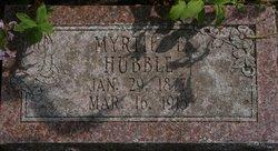 Myrtle Eugenia Myrtie <i>Closterman</i> Hubble
