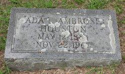 Ada C. <i>Ambrose</i> Houston