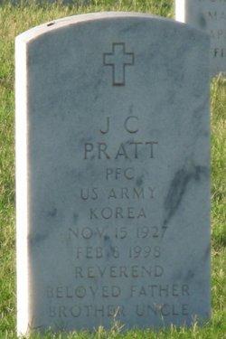 Pvt J. C. Pratt