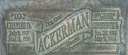 Genevieve Lucille <i>Chapman</i> Ackerman