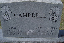 Cecil C Campbell