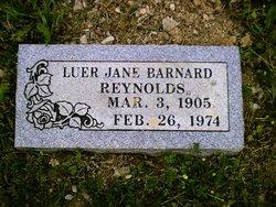 Luer Jane <i>Barnard</i> Reynolds