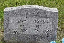 Mary <i>Williams</i> Lamb