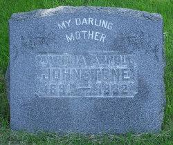 Martha A. <i>Wichmann</i> Arnold Johnstone
