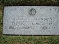 Joseph H Hanson