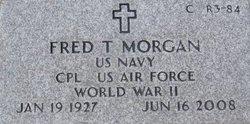 Fred T Morgan