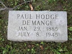 Paul Hodge DeMange