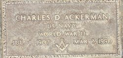 Charles DeWitt Doc Ackerman