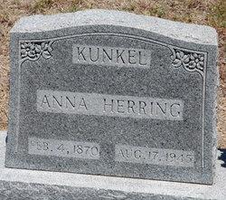 Anna Mary Sophia <i>Herring</i> Kunkel