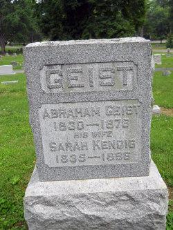 Sarah <i>Kendig</i> Geist