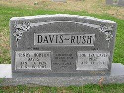 Lou Iva <i>Davis</i> Rush