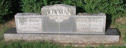 Byron Winslow Bowman