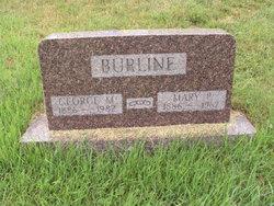 Mary P <i>Wise</i> Burline