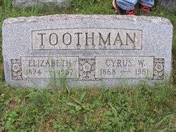 Elizabeth Amanda <i>Price</i> Toothman