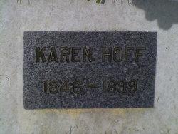 Karen Elise <i>Jevne</i> Hoff
