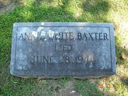 Annie <i>White</i> Baxter