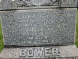 Ens George Kremer Bower