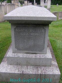 Rev Asaph Butler