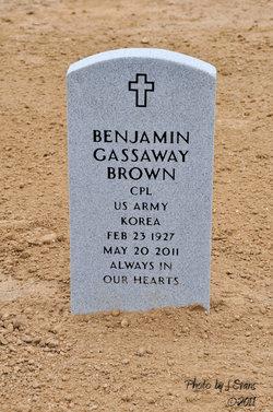 Benjamin Gassaway Brown