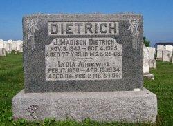 James Madison Dietrich, Sr
