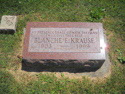 Blanche E <i>Holden</i> Krause