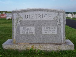 Edna S <i>Wenger</i> Dietrich
