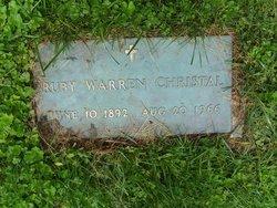 Ruby <i>Warren</i> Christal
