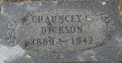 Chauncey C Dickson