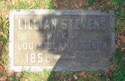 Lillian <i>Stevens</i> Blankenhorn