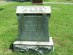 Sarah M <i>Lawhead</i> Karr
