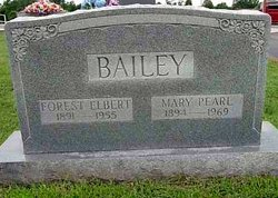 Forest Elbert Bailey