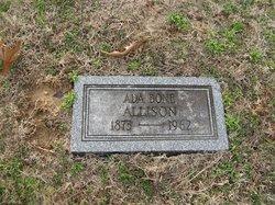 Ada Dell <i>Bone</i> Allison