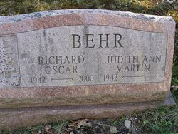 Judith Ann <i>Martin</i> Behr