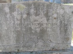Frederick W Becker