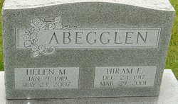 Helen <i>Moorhead</i> Abegglen