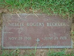 Nellie Ethel Nell <i>Rogers</i> Beckler
