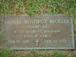 Samuel Benedict Beckler