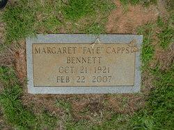 Margaret Faye <i>Capps</i> Bennett