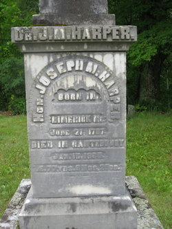Dr Joseph Morrill Harper