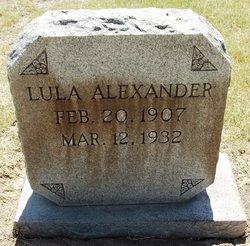 Lula Naomi <i>Dozier</i> Alexander