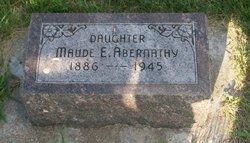 Maude E. Abernathy