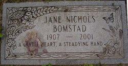 Jane <i>Nichols</i> Bomstad