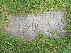Alma Inez <i>Rice</i> Caldwell