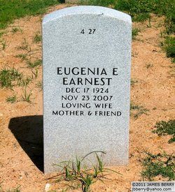 Eugenia Elizabeth Miss Betty <i>Burns</i> Earnest