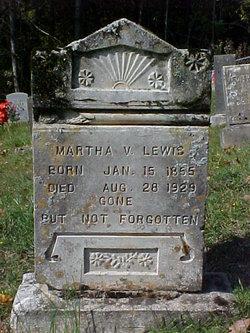 Martha Virginia <i>Barker</i> Lewis