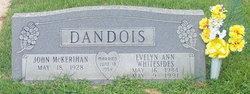 Evelyn Ann <i>Whitesides</i> Dandois